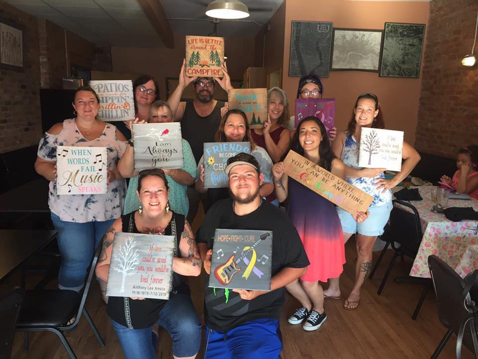 Paint & Sip Parties and Events