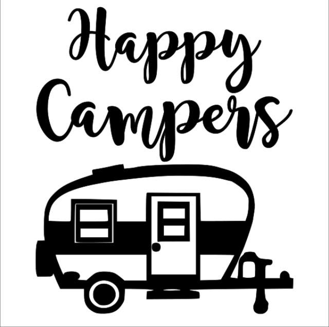 happy campers 12x12